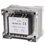 RS PRO 100VA 2 Output Chassis Mounting Transformer, 6V ac