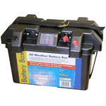 Battery Box Battery up to 110 Ah, Charge Controller