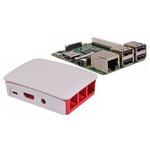 Raspberry Pi 3 B with Official Raspberry Pi White Case
