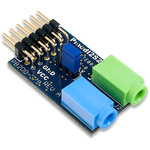 Development Kit Pmod I2S2 Stereo Audio Input and Output for use with Cirrus CS5343 Audio A/D Converter, Cirrus CS5343