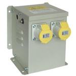Carroll & Meynell, 1.65kVA CM3300WM2 Safety Transformer, 230V ac, 15A