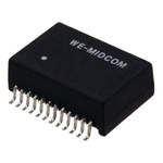 Surface Mount Lan Ethernet Transformer, 18.3 x 12.2 x 6.35mm, 0 → +70 °C