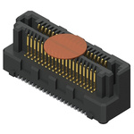Samtec, LSHM Razor Beam, 60 Way, 2 Row, Straight PCB Header