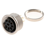 Lumberg 8 Pole Din Socket, DIN EN 60529, 60 V ac IP68