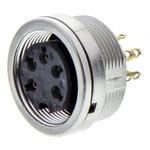 Lumberg 5 Pole Din Socket, DIN EN 60529, 5A, 250 V ac IP68