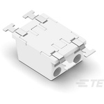 TE Connectivity, Poke-In Female 2 Pole 1 Way Connector, Surface Mount, Rated At 6A, 320 V ac