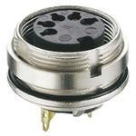 Lumberg 5 Pole Din Socket, DIN EN 60529, 5A, 60 V ac IP68