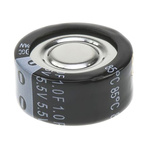 Panasonic 0.1F Supercapacitor EDLC -20 → +80% Tolerance, F 5.5V dc, Through Hole