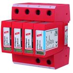 Dehn 275 V Maximum Voltage Rating Surge Arrester, DIN Rail Mounting