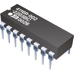Bourns Isolated Resistor Network 270Ω ±2% 8 Resistors, 2.25W Total, DIP package 4100R Through Hole