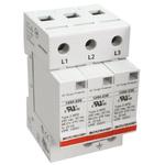 Bourns, 1250 415 V ac Maximum Voltage Rating 50kA Maximum Surge Current 3 Pole Protector, DIN Rail