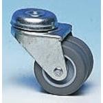 Flexello Swivel Stem Swivel Castors, 160kg Load Capacity, 100mm Wheel Diameter