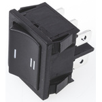 TE Connectivity Double Pole Single Throw (DPST), On-On Rocker Switch Panel Mount
