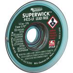 Super Wick 1.5m Lead Free No Clean Desoldering Braid, Width 2mm