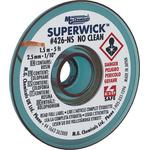 Super Wick 1.5m No Clean Desoldering Braid, Width 2.5mm