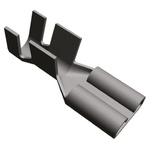 TE Connectivity, FASTON .250 Uninsulated Spade Connector, 6.35 x 0.81mm Tab Size, 4mm² to 6mm²