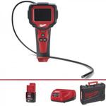 Milwaukee 9mm probe Inspection Camera, 914mm Probe Length, 640 x 480pixels Resolution, LED Illumination