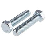 Clear Passivated, Zinc Steel Hex M16 x 70mm Set Screw