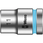 Wera 11mm Hex Socket With 3/8 in Drive , Length 29 mm