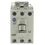 Allen Bradley 100 Series 100C 3 Pole Contactor - 30 A, 24 V dc Coil, 3NO, 15 kW