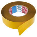 Tesa 51571 White Double Sided Cloth Tape, 38mm x 50m