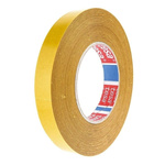 Tesa 51571 White Double Sided Cloth Tape, 19mm x 50m