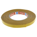 Tesa 51571 White Double Sided Cloth Tape, 12mm x 50m