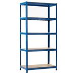 RS PRO Blue Storage Rack System Starter Bay, 1800mm, 900mm x 300mm