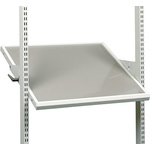 Treston Grey Steel Adjustable Shelf, 99.79kg Load x 650mm