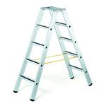 Zarges Aluminium 2 x 5 steps Step Ladder, 1.32m open length