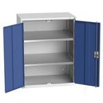 Bott 2 Door Steel Floor Standing Storage Cabinet, 1000 x 800 x 550mm
