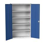 Bott 2 Door Steel Lockable Floor Standing Storage Cabinet, 2000 x 1300 x 550mm