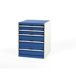 Bott Steel Floor Standing Storage Cabinet, 800 x 650 x 650mm