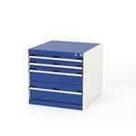 Bott Steel Floor Standing Storage Cabinet, 600 x 650 x 650mm