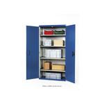 Bott 2 Door Steel Floor Standing Storage Cabinet, 2000 x 1050 x 650mm