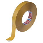 Tesa 4970 White Double Sided Plastic Tape, 25mm x 50m