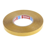 Tesa 4970 White Double Sided Plastic Tape, 15mm x 50m