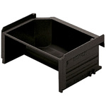 Bosch Rexroth Storage Bin Storage Bin, 100mm x 123mm, Black