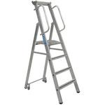 Zarges 4 steps Step Ladder, 1.04m platform height, 2.150m open length