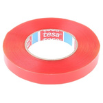 Tesa 4967 Transparent Double Sided Plastic Tape, 19mm x 50m