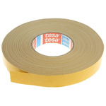 Tesa 4964 White Double Sided Cloth Tape, 25mm x 50m