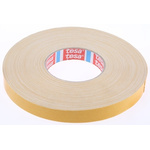 Tesa 4964 White Double Sided Cloth Tape, 19mm x 50m