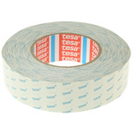 Tesa 4943 White Double Sided Cloth Tape, 38mm x 50m