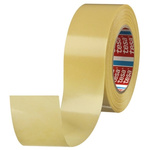 Tesa 4939 White Double Sided Cloth Tape, 50mm x 25m