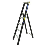 Zarges Aluminium 4 steps Step Ladder, 1.06m platform height
