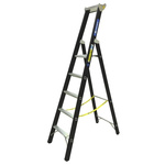 Zarges Aluminium 5 steps Step Ladder, 1.33m platform height