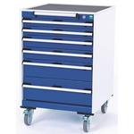 Bott Lockable Floor Standing Storage Cabinet, 980 x 650 x 650mm