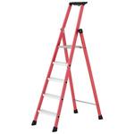 TUBESCA Fibreglass 4 steps Step Ladder, 0.92m platform height