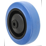 Flexello Blue Rubber Trolley Wheel, 135kg