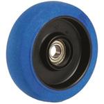 Flexello Blue Rubber Trolley Wheel, 180kg